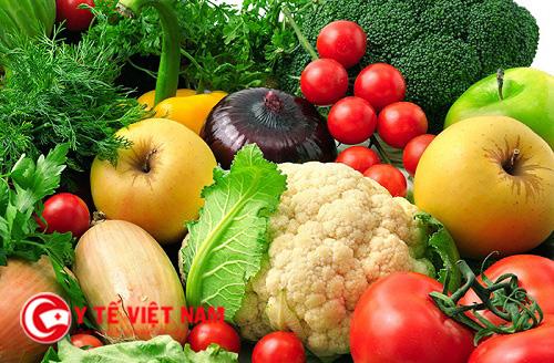 Hoạt chất tự nhiên trong rau quả giúp thăng hoa dễ dàng