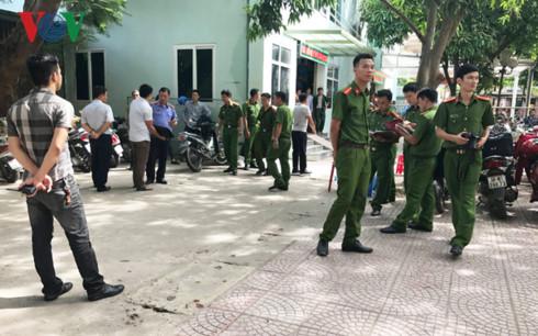 Bệnh viện Sản Nhi Nghệ An - nơi xảy ra sự việc.