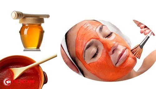 Mặt nạ cà chua mật ong là bí quyết chống lão hóa da hiệu quả