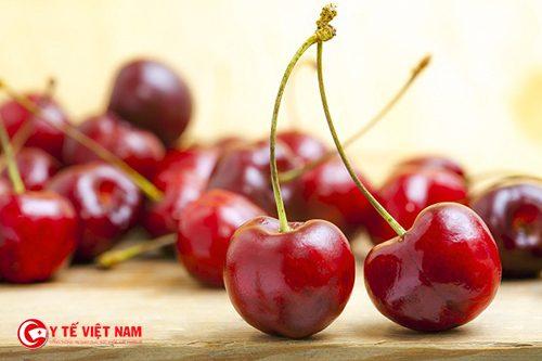 Quả cherry giúp phụ nữ giảm cân toàn thân hiệu quả