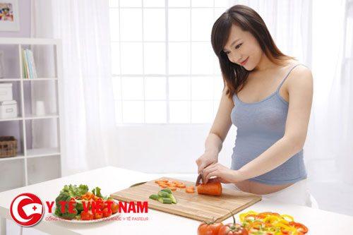 Chú trọng hơn đến vấn đề dinh dưỡng trước khi mang thai