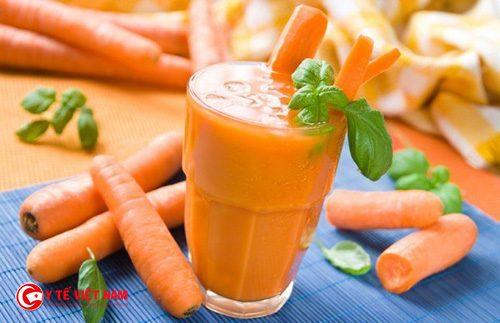 Cà rốt giúp ngăn ngừa lão hóa da hiệu quả