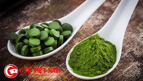 Tảo Spirulina cung cấp nguồn dinh dưỡng dồi dào giúp mẹ tăng cân