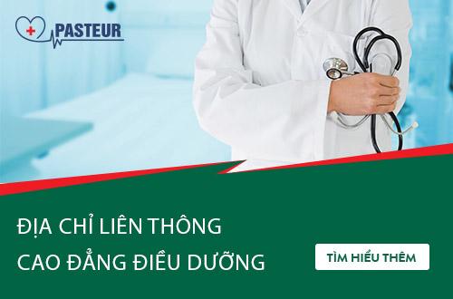 Trường Cao đẳng Y Dược Pasteur đào tạo Liên thông Cao đẳng Điều dưỡng uy tín