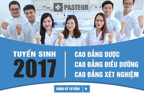 Trường Cao đẳng Y Dược Pasteur thông báo tuyển sinh năm 2017