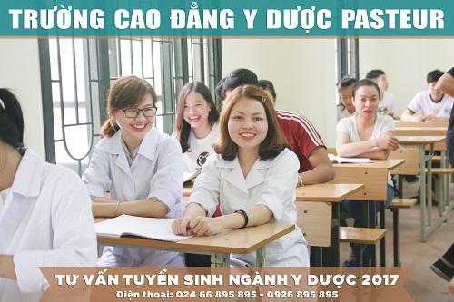 Trường Cao đẳng Y Dược Pasteur đào tạo Văn bằng 2 Cao đẳng Y Dược với mức học phí thấp nhất