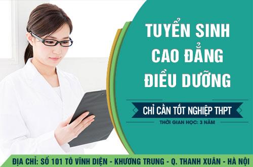 Địa chỉ đào tạo Cao đẳng Điều dưỡng uy tin tại Hà Nội