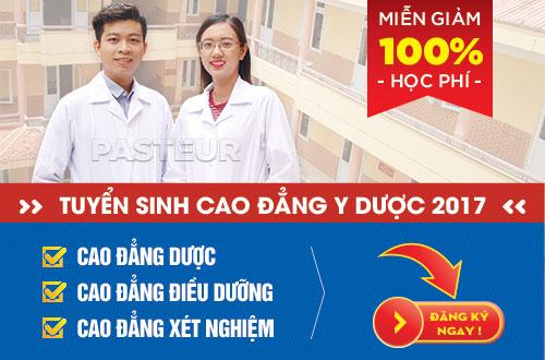Xét tuyển Cao đẳng Y Dược Trường Cao đẳng Y Dược Pasteur