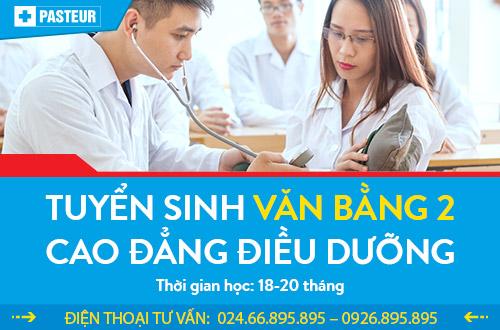 Học Văn bằng 2 Cao đẳng Điều dưỡng vào thứ 7 và chủ nhật