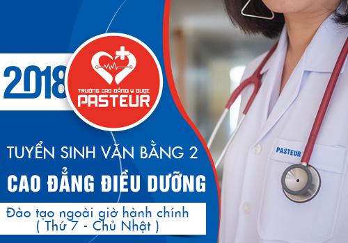 Thời hạn nộp hồ sơ Văn bằng 2 Cao đẳng Điều dưỡng tại Hà Nội năm 2018