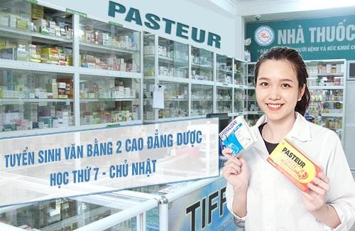 Cao đẳng Y Dược tại Hà Nội tuyển sinh Văn bằng 2 Cao đẳng Dược