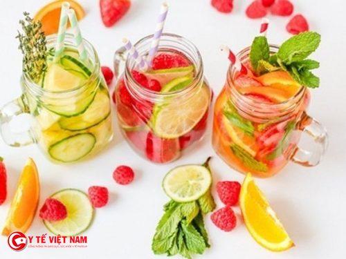 Detox cơ thể cũng là chế độ ăn kiêng giảm cân hiệu quả