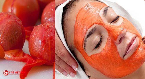 Mặt nạ cà chua cho làn da trắng hồng mịn màng
