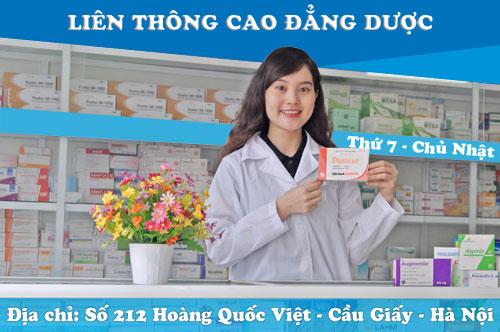 Tuyển sinh liên thông Cao đẳng Dược học tại Hà Nội ngoài giờ hành chính