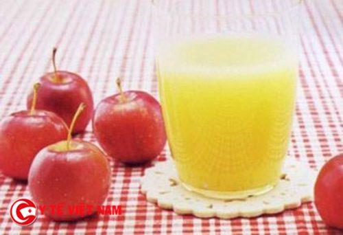 Cách giảm cân cấp tốc bằng nước ép táo chanh