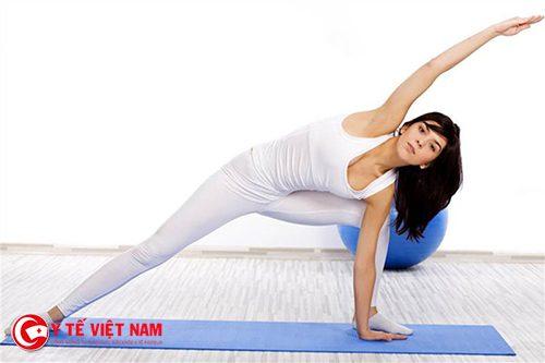 Tập thể dục chính là cách đánh tan mỡ thừa hiệu quả