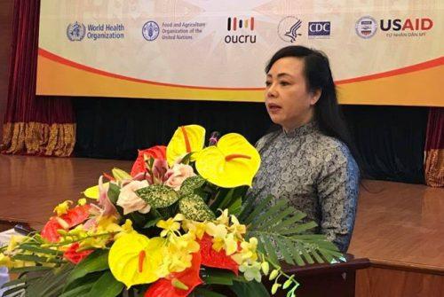 Bộ trưởng Y tế Nguyễn Thị Kim Tiến khẳng định thuốc kháng sinh là bước ngoặt lịch sử của nhân loại. Ảnh:PV.
