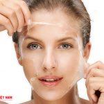 Tẩy tế bào chết quá ít khiến cho làn da khô ráp sần sùi