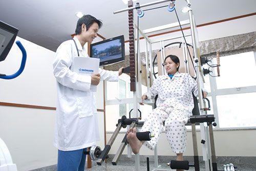 Bệnh nhân có thể thực hiện biện pháp vận động phục hồi
