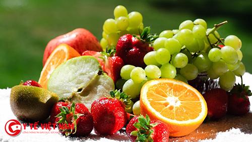 Bổ sung trái cây tươi giúp cải thiện vòng một