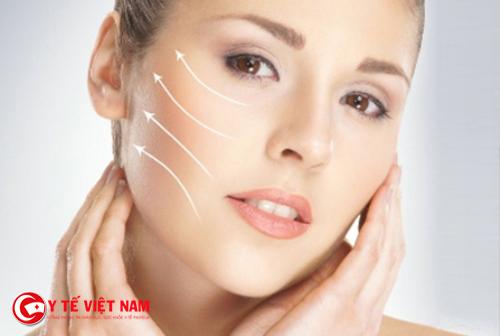 Căng da mặt nội soi giúp cho làn da căng mịn sáng hồng
