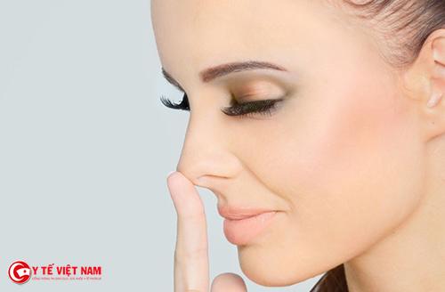 Nâng mũi giúp mũi cao thanh thoát