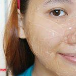 Mặt nạ thạch giúp chăm sóc da trắng mịn