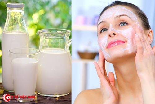 Sữa tươi hết hạn giúp chăm sóc da sáng mịn