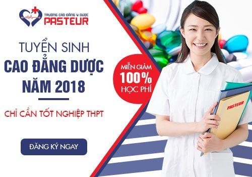 Trường Cao đẳng Y Dược Pasteur tuyển sinh Cao đẳng Dược năm 2018