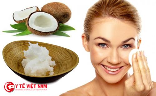 Cách dưỡng da bằng dầu dừa giúp trị mụn hiệu quả