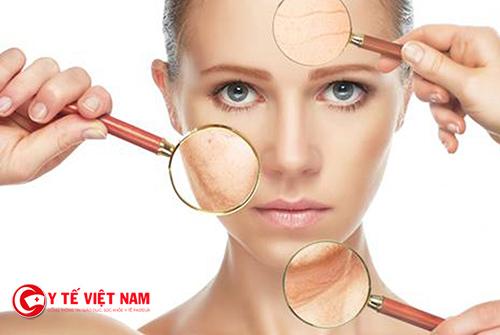 Bổ sung vitamin để cải thiện làn da nhăn nheo