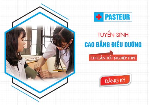 Trường Cao đẳng Y Dược Pasteur đào tạo Cao đẳng Điều dưỡng uy tín