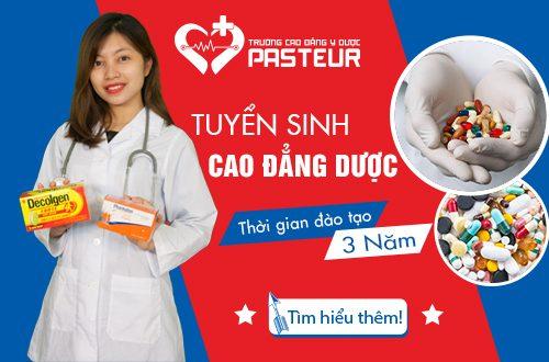 tuyển sinh Trường Cao đẳng Y Dược Pasteur năm 2018
