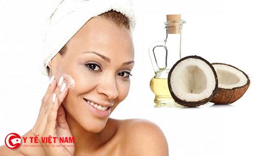 Dầu dừa giúp dưỡng da căng mịn