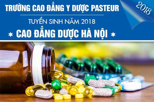 Phương thức Xét tuyển Cao đẳng Dược Hà Nội năm 2018