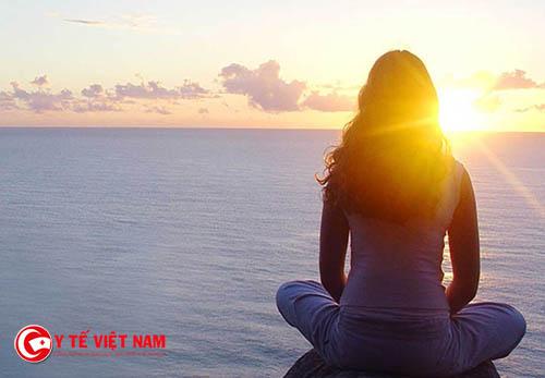 Ngồi thiền mỗi ngày giúp cơ thể thải độc tăng cường chăm sóc da