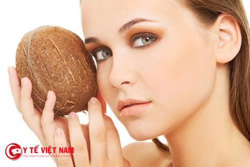 Sử dụng dầu dừa để điều trị nám da hiệu quả