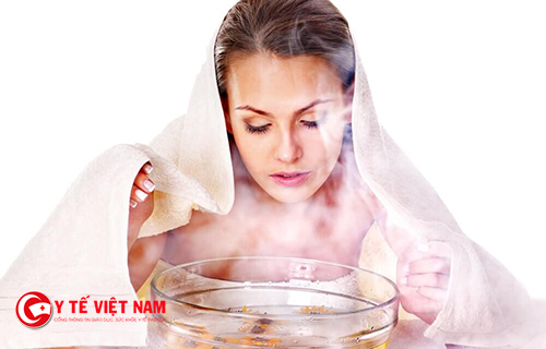 Xông hơi giúp cho da mặt căng mịn tự nhiên