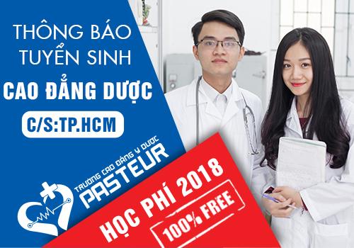 Thông báo tuyển sinh Cao đẳng Dược TPHCM năm 2018