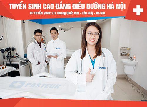 Hướng dẫn đăng ký xét tuyển Cao đẳng Điều dưỡng Hà Nội trực tuyến năm 2018