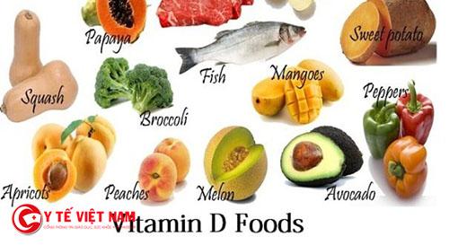Bổ sung vitamin D giúp làm đẹp da hữu hiệu