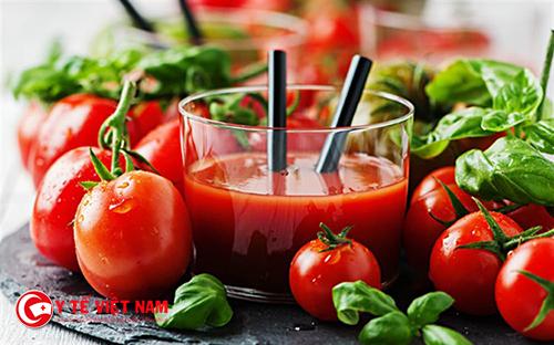 Cà chua được coi là thần dược đối với phái đẹp