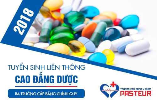 Hồ sơ Liên thông Cao đẳng Dược Sài Gòn năm 2018