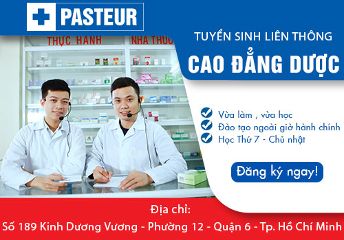 Liên thông Cao đẳng Dược Sài Gòn học khung giờ ngoài hành chính