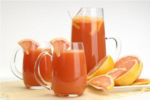 nước ép cam cà chua
