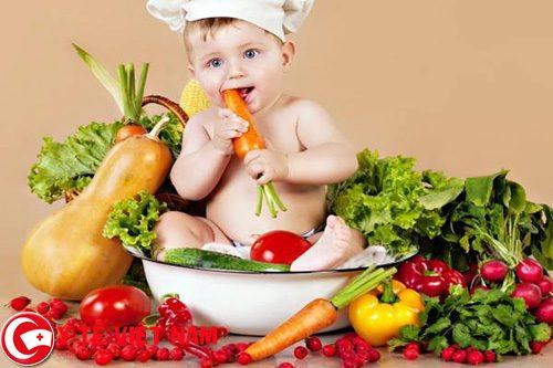 Các bậc cha mẹ nên đa dạng các loại thực phẩm trong bữa ăn của trẻ