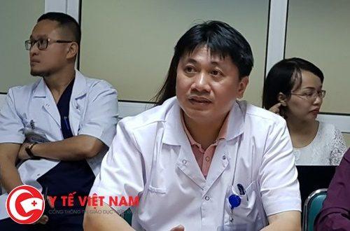 TS.BS. Lê Việt Khánh - Phó Trưởng khoa Phẫu thuật Cấp cứu Tiêu hóa, Bệnh viện Việt Đức