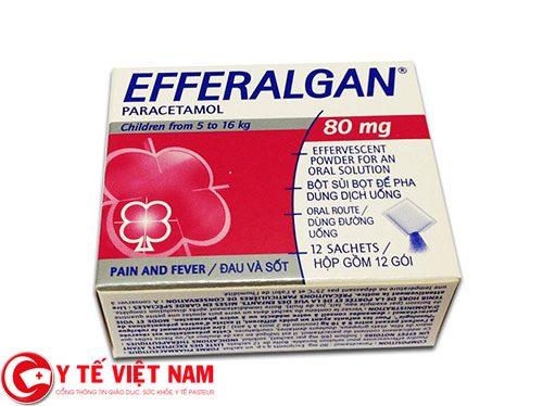 Efferalgan 500mg có thể được sử dụng dưới nhiều dạng khác nhau