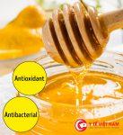 Mật ong là chất kháng khuẩn, chống oxy hóa cực tốt