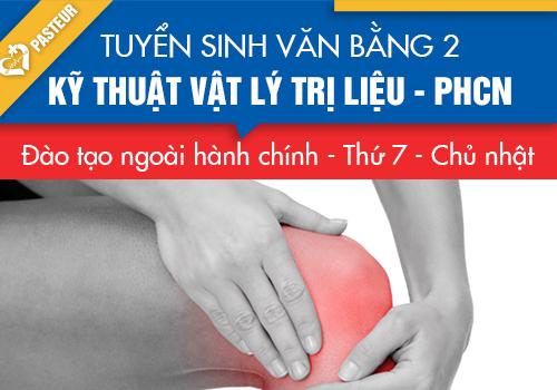 Thời gian đào tạo văn bằng 2 Cao đẳng KT Vật lý trị liệu – PHCN